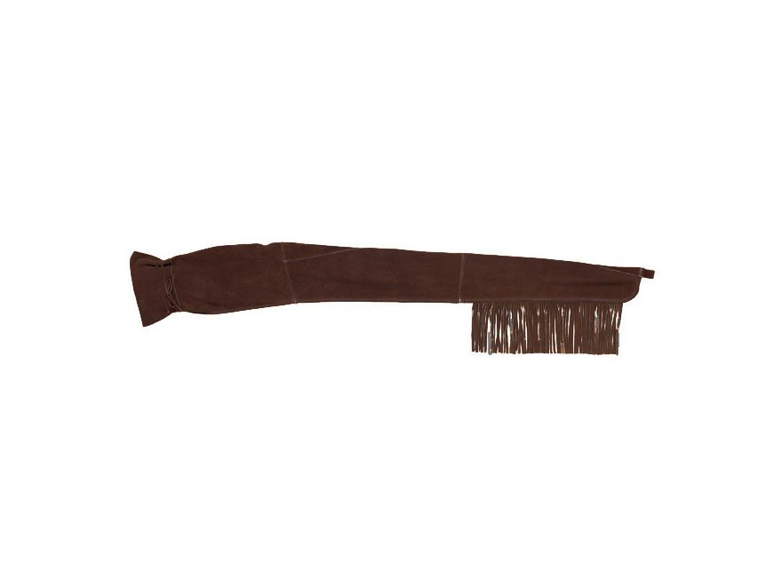 Triple K 911 Fringe Rifle Sleeve Leather Brown