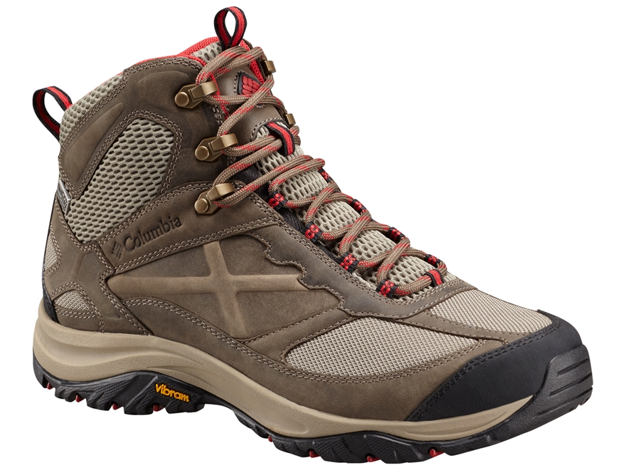 "Columbia Terrebonne Mid Outdry 5"" Waterproof Hiking Boots Leather/Nylon Men's"