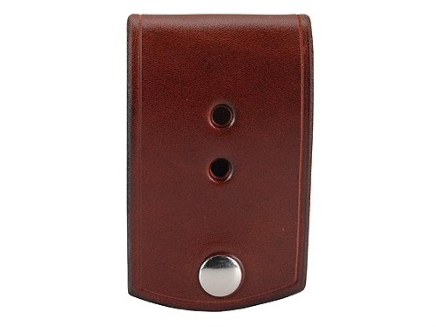 Van Horn Leather Badge Holder Leather Chestnut