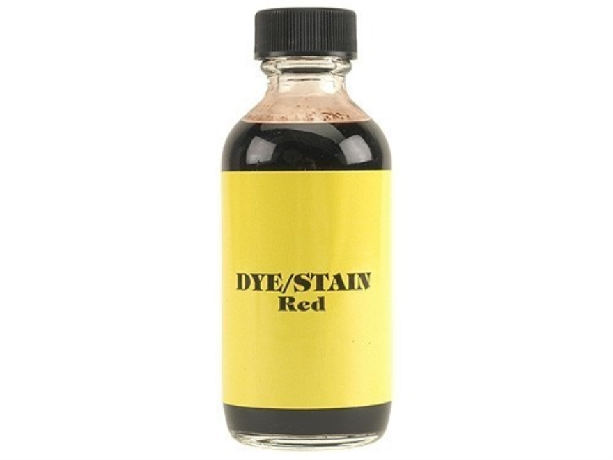 Galazan Water-Soluble Wood Stock Stain Red 2 oz Liquid