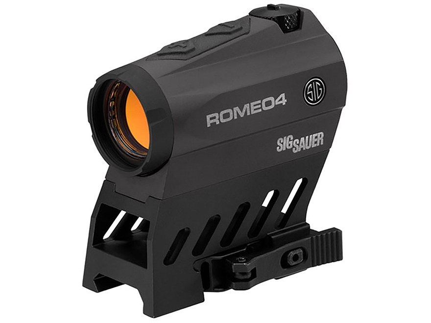 Sig Sauer ROMEO4B Red Dot Sight 1x 20mm 1/2 MOA Adjustments 2 MOA Dot with Circle Retic...