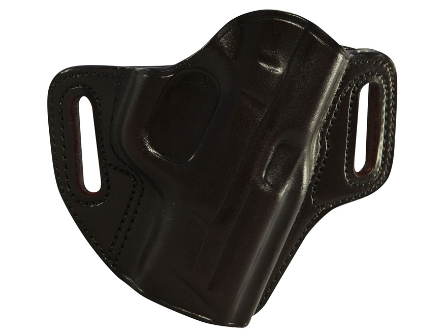 Galco Concealable Belt Holster Right Hand S&W M&P Compact 9, 40 Leather Havana
