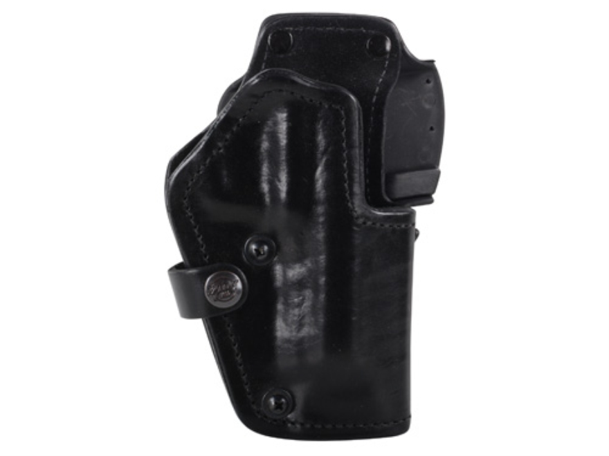 Front Line LKC 3-Layer Belt Holster Right Hand Beretta 92 Suede Lined Leather and Kydex...