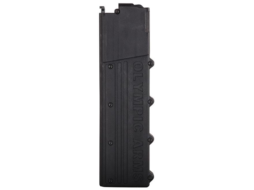 Olympic Arms Magazine AR-15 45 ACP 17-Round Polymer Black