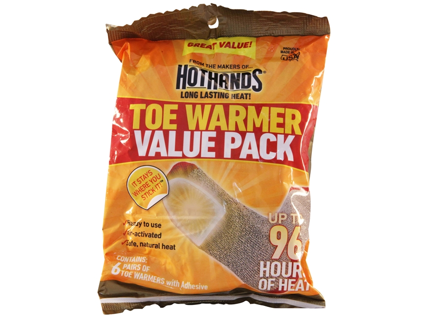 HotHands Toasti-Toes Toe Warmer Pack of 6 Pair
