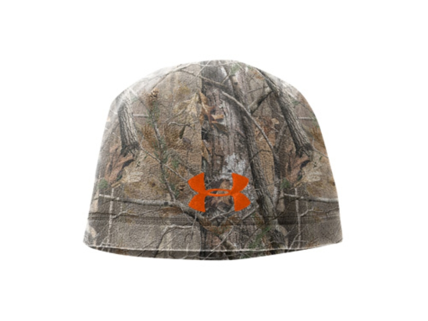 Under armour fleece beanie polyester realtree ap upc for Realtree camo flannel shirt