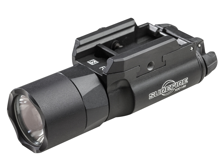 Surefire X300U-B Ultra Weapon Light with T-Slot Mounting Rail LED with 2 CR123A Batteri...