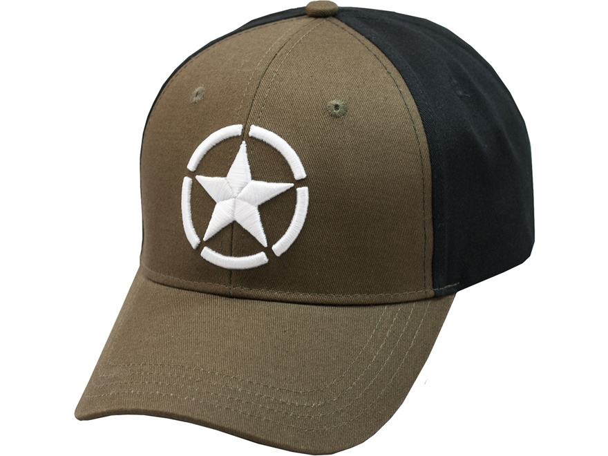 Smith & Wesson M&P White Star Insignia Logo Cap Polyester Green One Size Fits Most