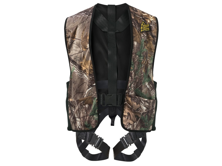 Hunter Safety System Treestalker HSS-700 Treestand Safety Harness Vest Realtree APG Cam...