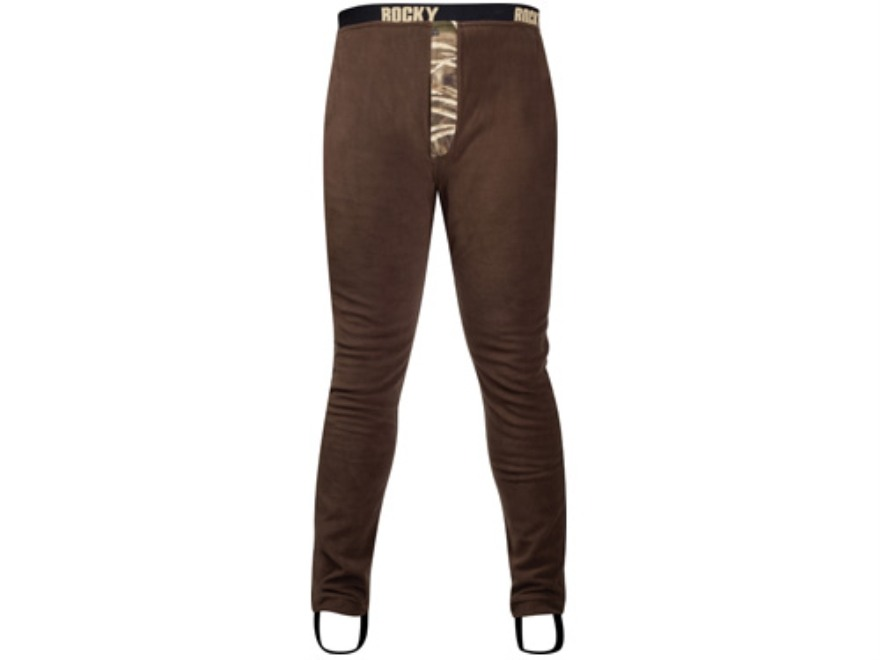 Rocky Men's Waterfowler Wader Pants Polyester Brown and Realtree Max-4 Camo Large 35-38...