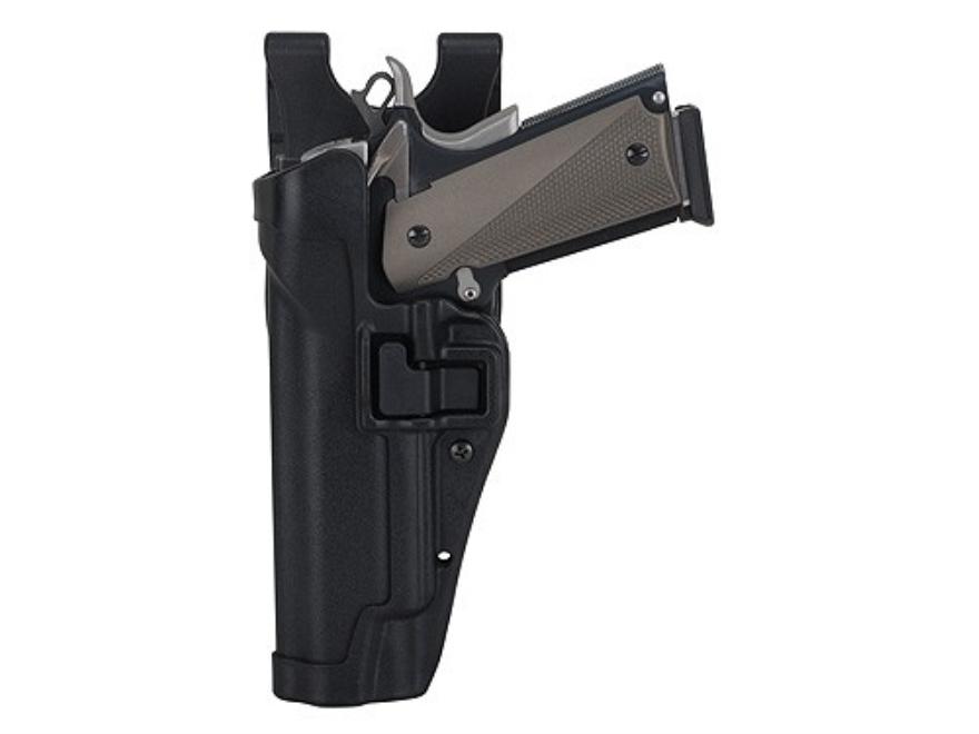 BlackHawk Level 2 Serpa Auto Lock Duty Holster Beretta 92, 96 Polymer Black