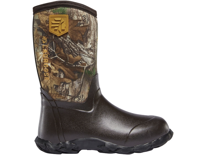 "LaCrosse 5mm Lil' Alpha Lite 16"" Waterproof Insulated Hunting Boots Rubber Over Neopren..."