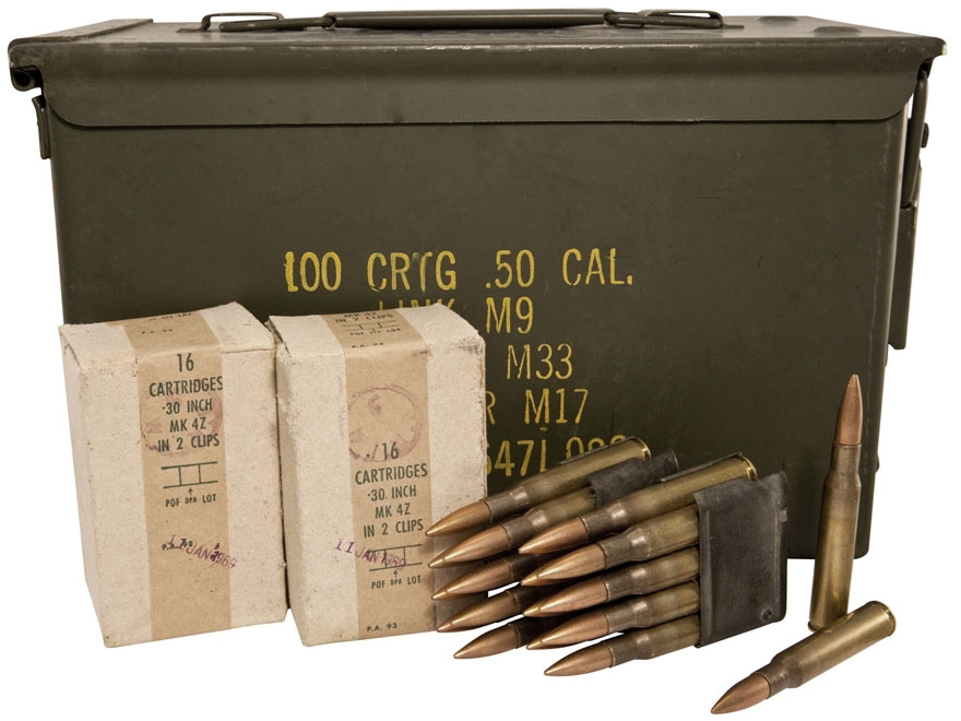 Military Surplus Ammunition 30-06 Springfield 150 Grain Full Metal Jacket Berdan Primed...