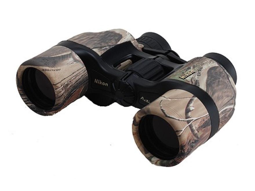 Nikon Action Binocular 8x 40mm Poro Prism Armored Realtree APG Camo