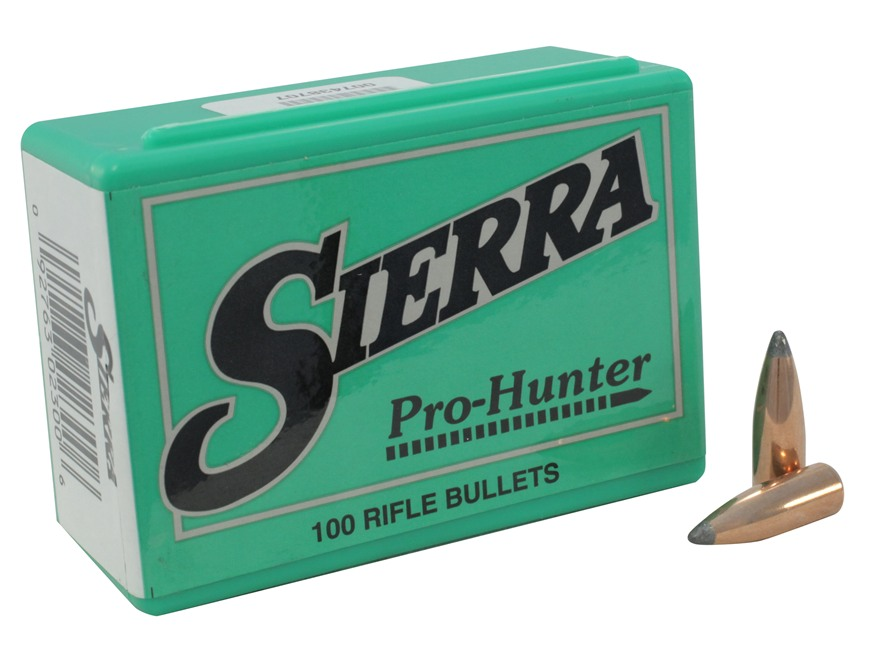 Sierra Pro-Hunter Bullets 303 Caliber, 7.7mm Japanese (311 Diameter) 150 Grain Spitzer ...