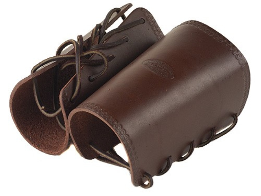 Hunter 1083 Cowboy Wrist Cuffs Leather Antique Brown
