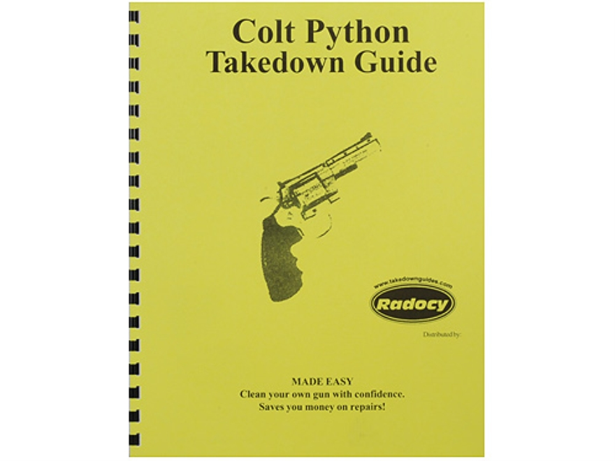 "Radocy Takedown Guide ""Colt Python"""