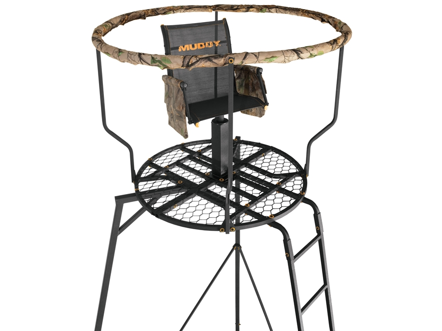Muddy Outdoors The Liberty 16' Tripod Stand Steel Black