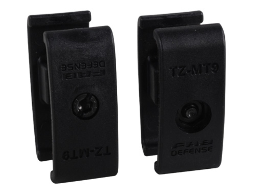 FAB Defense Magazine Coupler 9mm Luger UZI Polymer Black