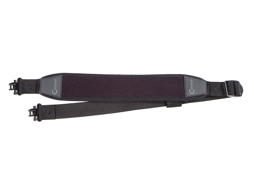 Caldwell HP Neo Rifle Sling with Swivels Neoprene Black