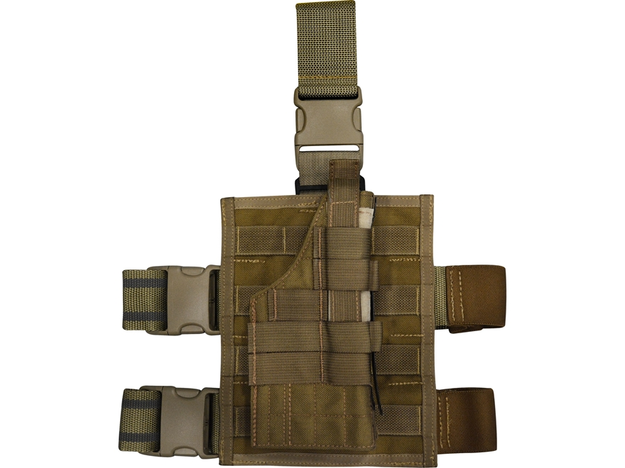 Military Surplus MOLLE II Holster and Thigh Panel Grade 1 Ambidestrous Beretta 92, 96, ...