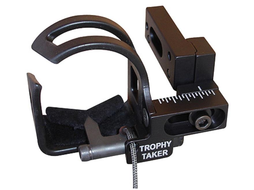 Trophy Taker X-treme FC Drop-Away Arrow Rest Right Hand Aluminum Black