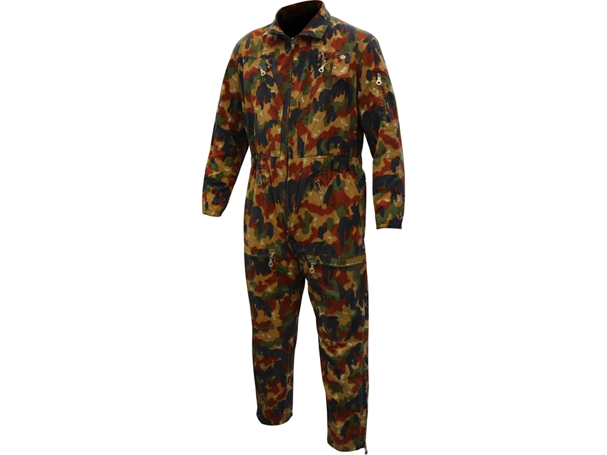 Military Surplus Swiss Tanker Coverall Camo