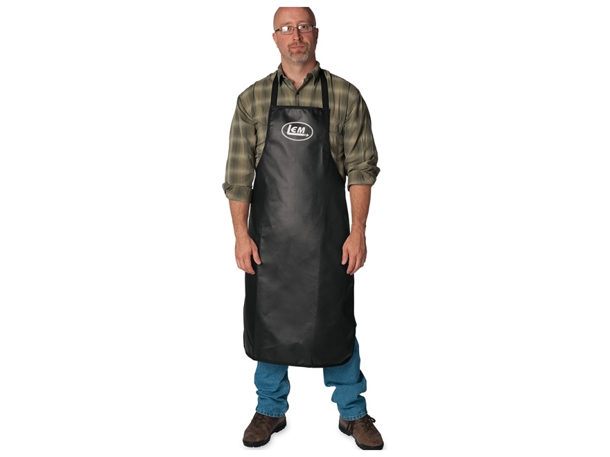 LEM Heavy Duty Apron Vinyl Black