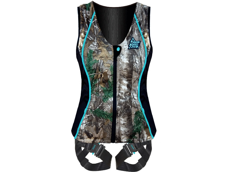 Hunter Safety System Contour Women's Treestand Safety Harness Realtree Xtra Camo