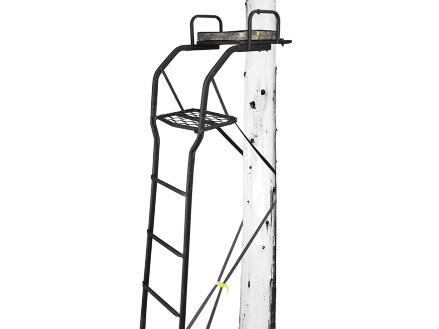 Hawk Detective 1-Man Ladder Treestand Steel