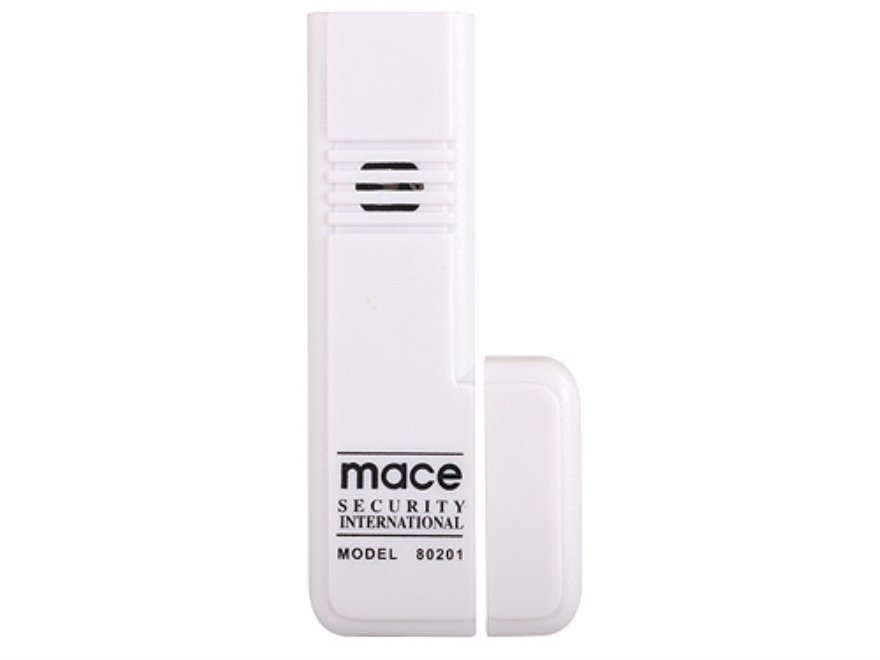Mace Brand Entrance Alert Home Security 95 Decibels Alarm with Batteries White