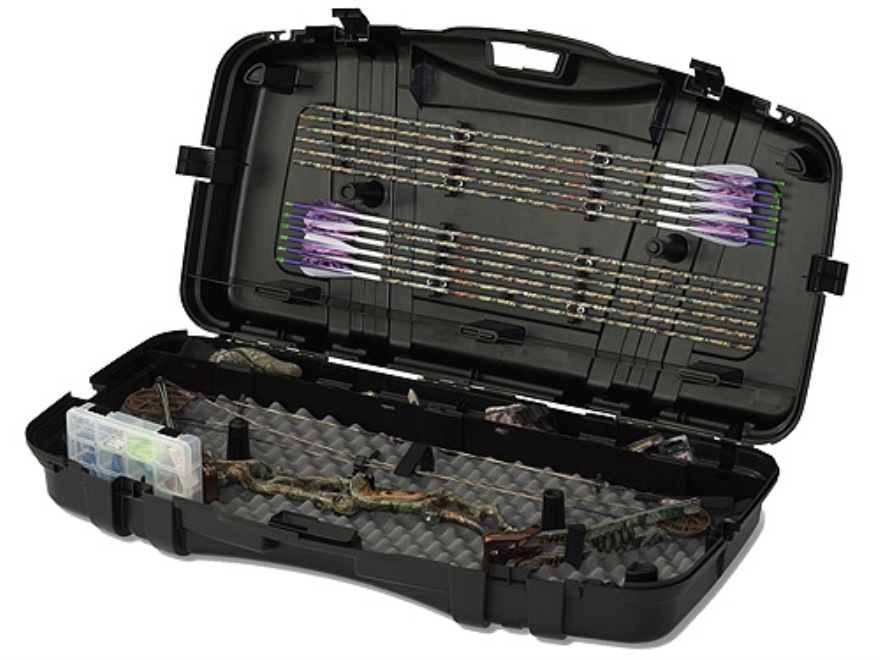 "Plano Bow-Max Series XT 42"" Single Bow Case Polymer Black"