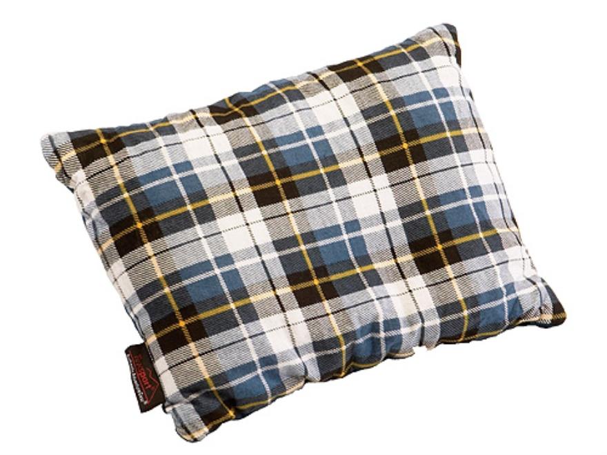 "Texsport Camp Pillow 10"" x 20"" Cotton Flannel Plaid"