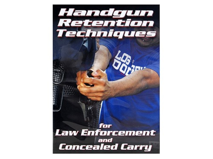 "Gun Video ""Handgun Retention Techniques For Law Enforcement and Concealed Carry"" DVD"