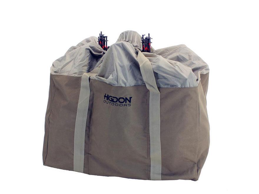 Higdon 6-Slot Alpha Series Full Body Goose Decoy Bag Polyester Brown