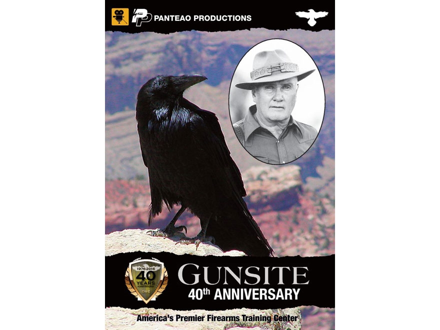 "Panteao ""40th Anniversary of Gunsite"" DVD"