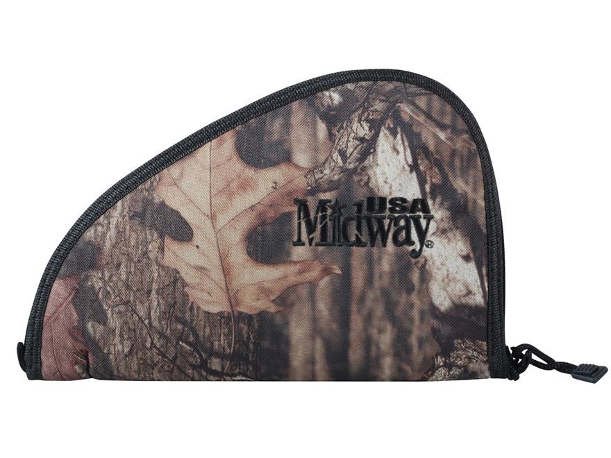 """MidwayUSA Pistol Case 10"""" Mossy Oak Break-Up Infinity Camo"""