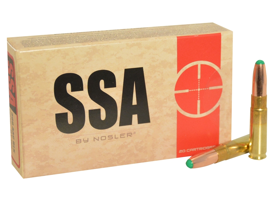 Silver State Armory Ammunition 300 AAC Blackout 220 Grain Nosler Ballistic Tip Box of 20