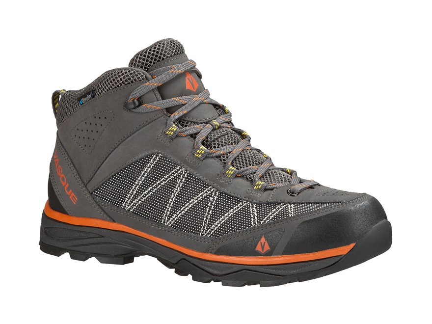 "Vasque Monolith UltraDry 5"" Waterproof Hiking Boots Synthetic and Leather Slate Magnet ..."