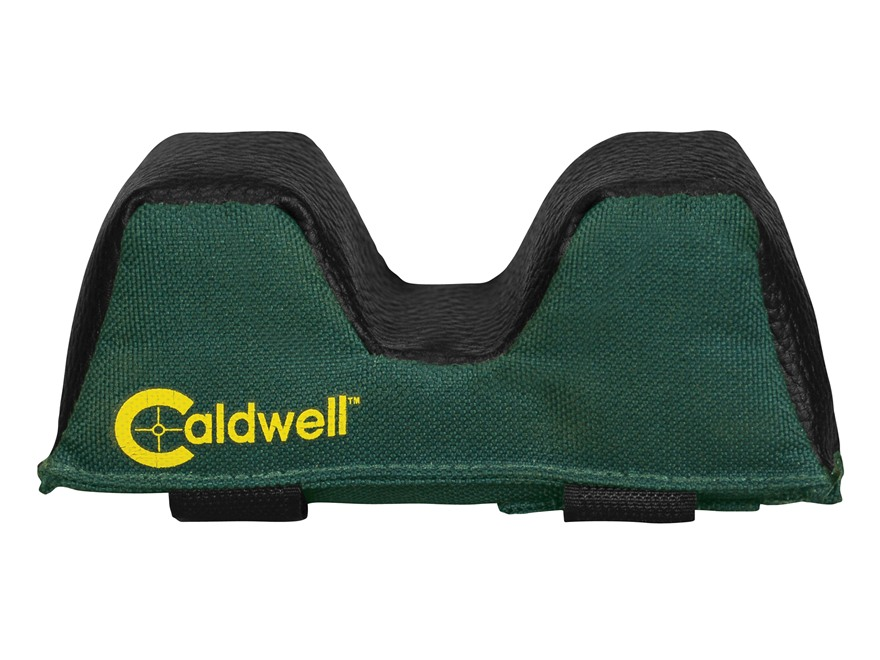 Caldwell Universal Deluxe Sporter Forend Front Shooting Rest Bag Narrow Nylon and Leath...