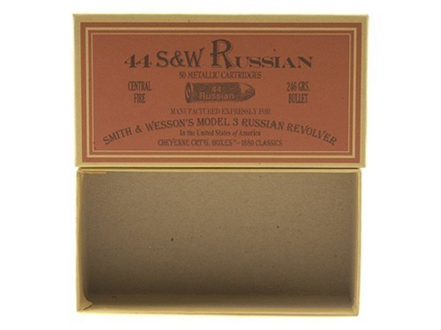 Cheyenne Pioneer Cartridge Box 44 Russian Chipboard Pack of 5