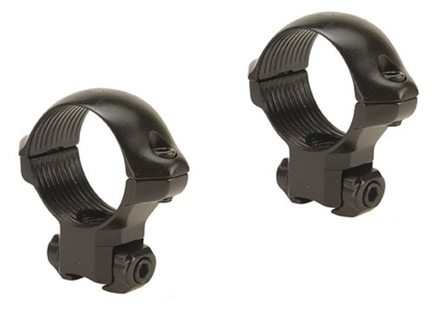 "Millett 1"" Angle-Loc Windage Adjustable Rings 3/8"" Grooved Receiver Gloss Medium"