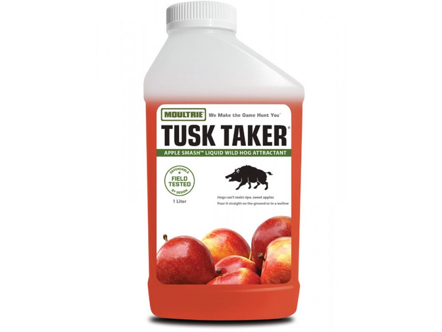 Moultrie Tusk Taker Apple Smash Hog Attractant I Liter