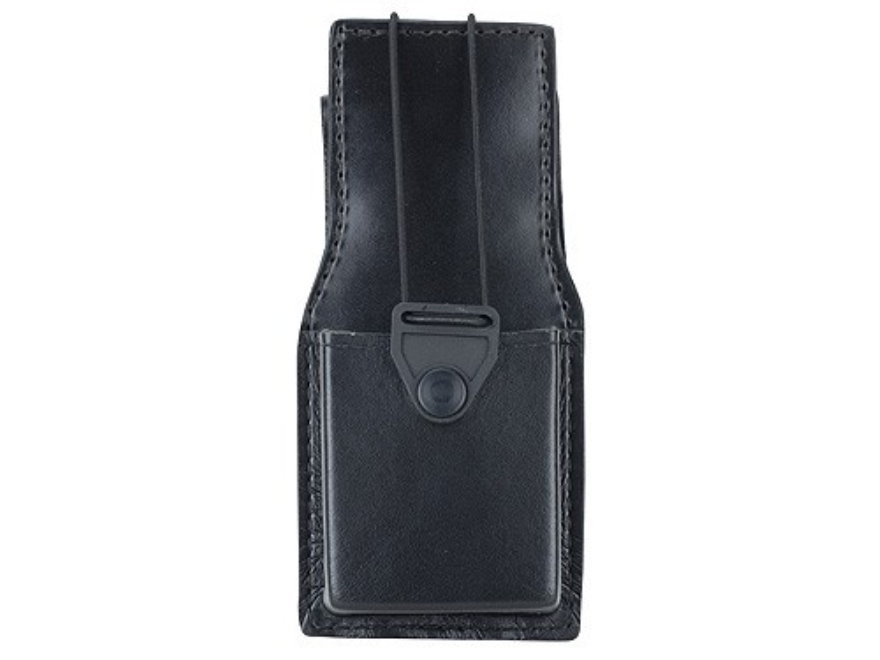 Gould & Goodrich B652 Swivel Radio Holder Leather Black