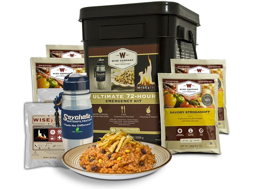 Wise Food Ultimate 72 Hour Survival Kit