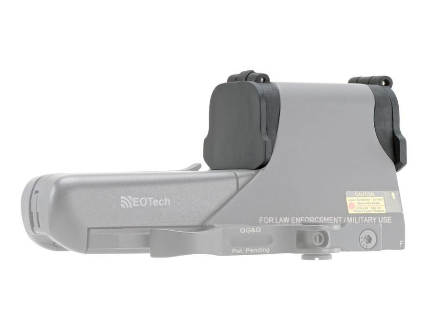 GG&G Flip-Up Lens Covers EOTech 511, 512, 551, 552 Black