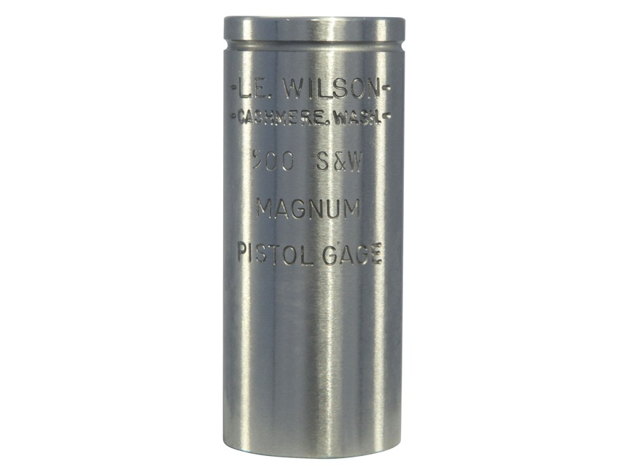 L.E. Wilson Max Cartridge Gauge 500 S&W Magnum