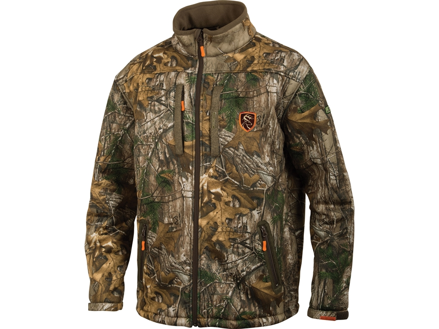 Drake Non-Typical Men's Silencer Full Zip Scent Control Jacket Polyester
