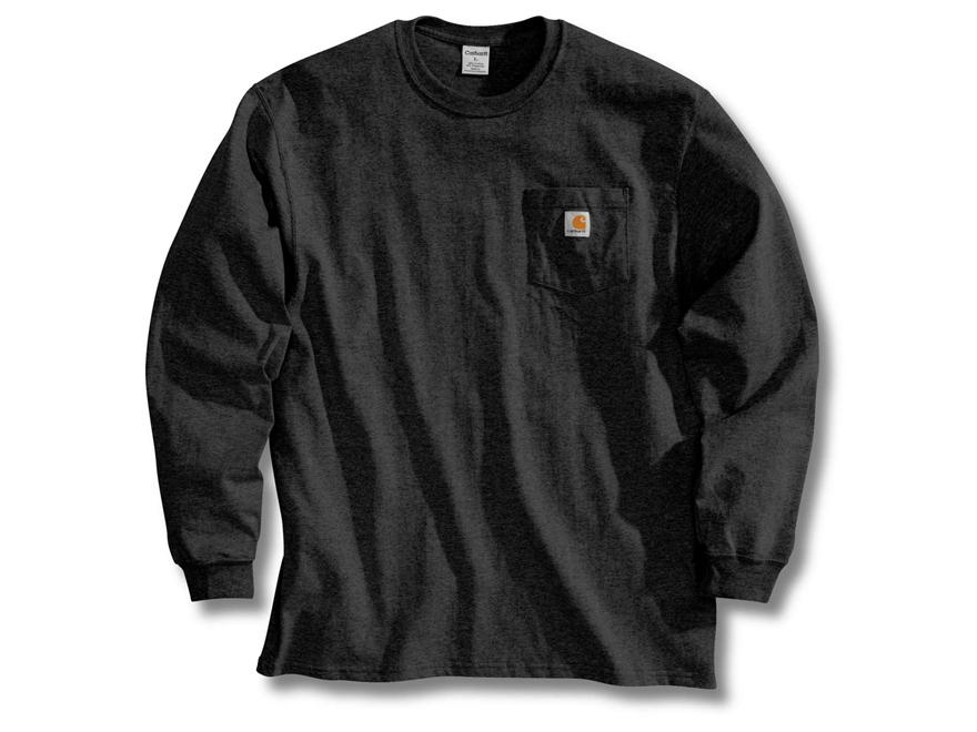 Carhartt men 39 s workwear pocket t shirt long sleeve upc for Carhartt men s long sleeve lightweight cotton shirt