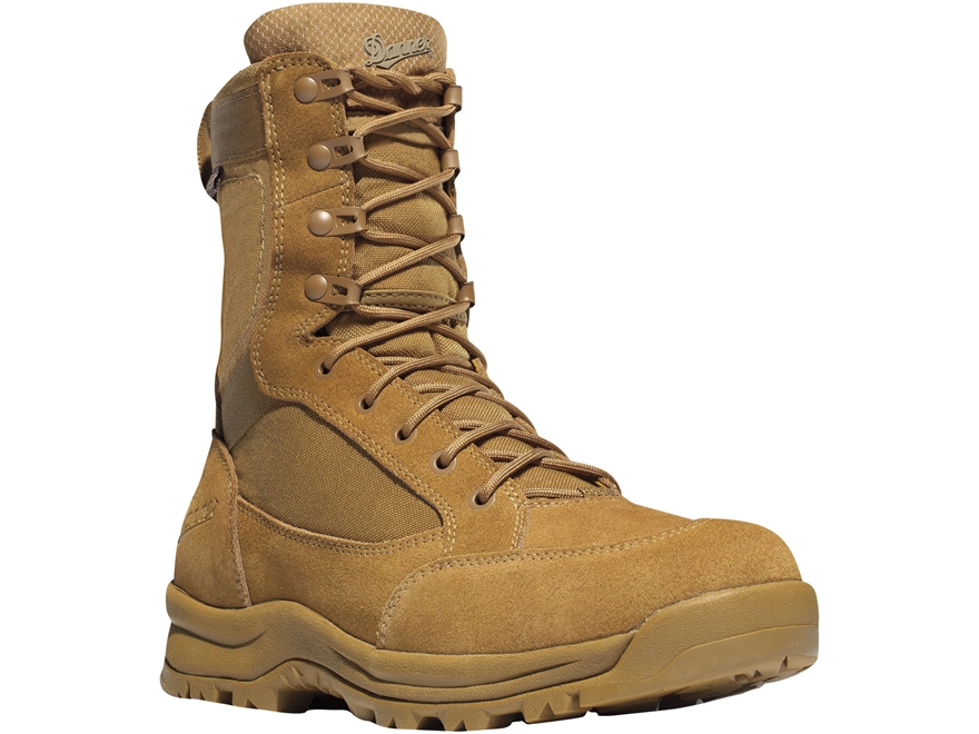 """Danner Tanicus 8"""" Waterproof Tactical Boots Leather/Nylon"""